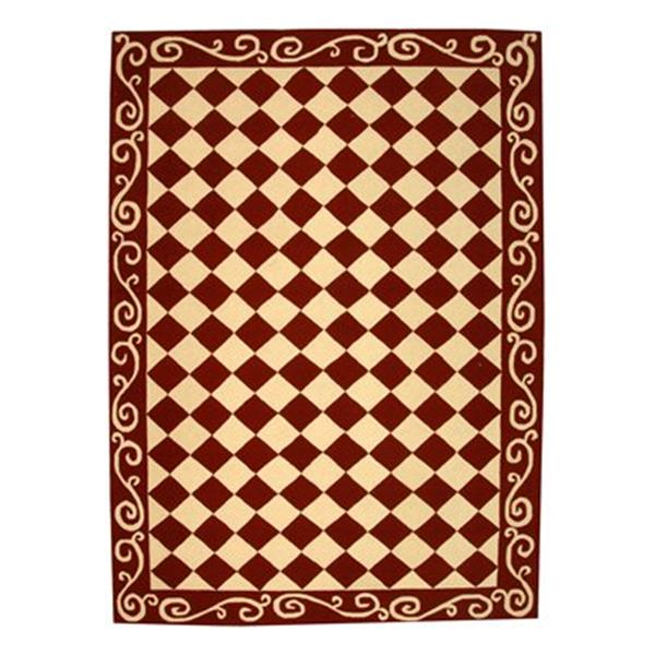 Safavieh Chelsea 30-in. Burgundy/Ivory Runner