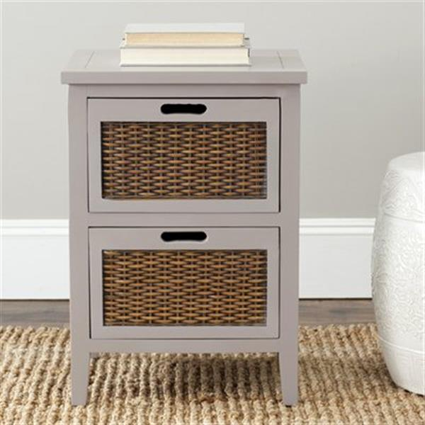 Safavieh Jonah 24.2-in Grey Side Table