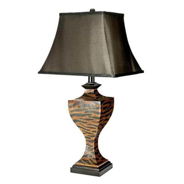 Safavieh 32.50-in Zebra Table Lamp (Set of 2)