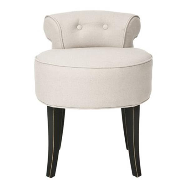 Safavieh Light Brown Georgia Vanity Chair