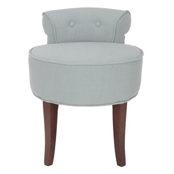 Safavieh Gray Georgia Vanity Chair