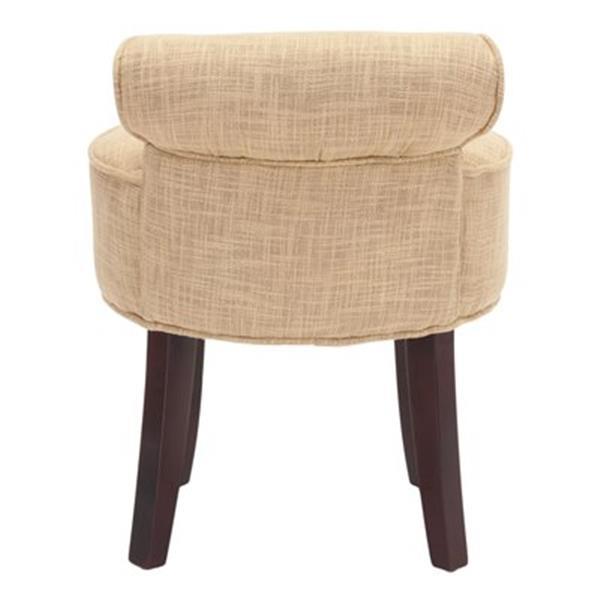 Safavieh Gold Georgia Vanity Chair