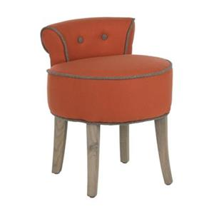 Safavieh Orange Georgia Vanity Chair