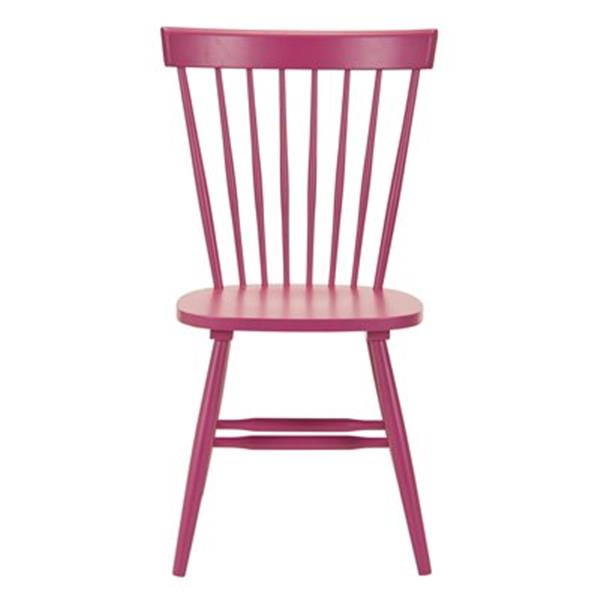 Safavieh Parker 36-in Raspberry Dining Chairs (Set of 2)
