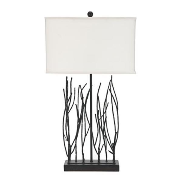 Safavieh 30.50-in Black Grayson Twig Table Lamp