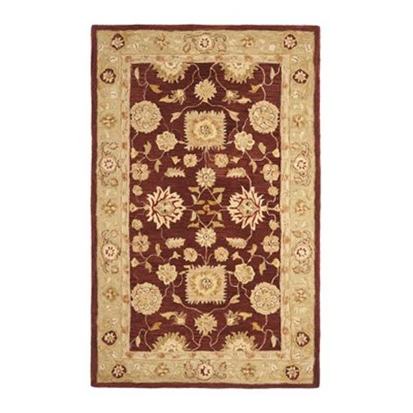 Safavieh Anatolia Red and Sage Area Rug,AN556F-4