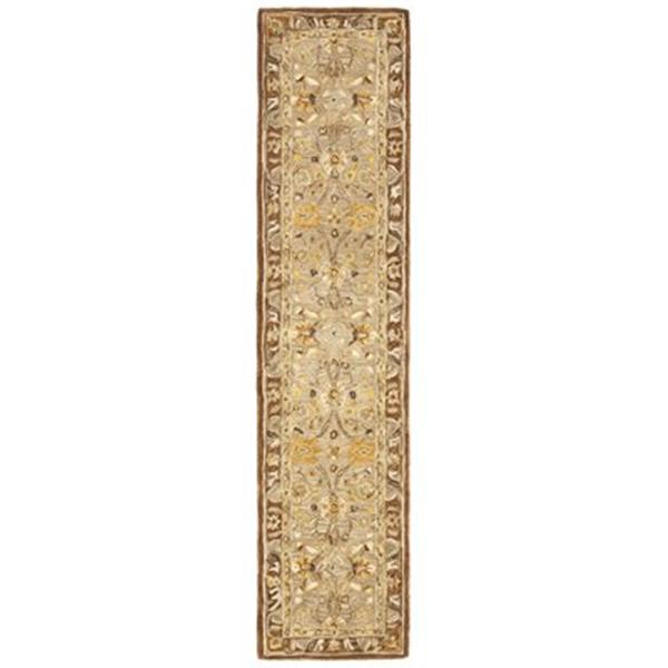 Safavieh AN558A Anatolia Area Rug, Dark Grey/Brown,AN558A-21