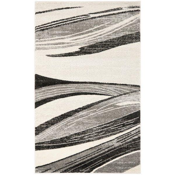 Safavieh RET2691-7912 Retro Area Rug, Light Grey/Ivory,RET26