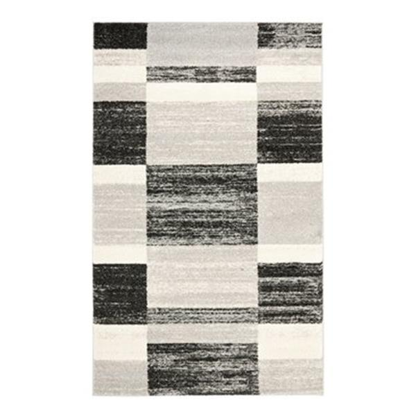 Safavieh Retro Black and Light Grey Area Rug,RET2692-9079-5