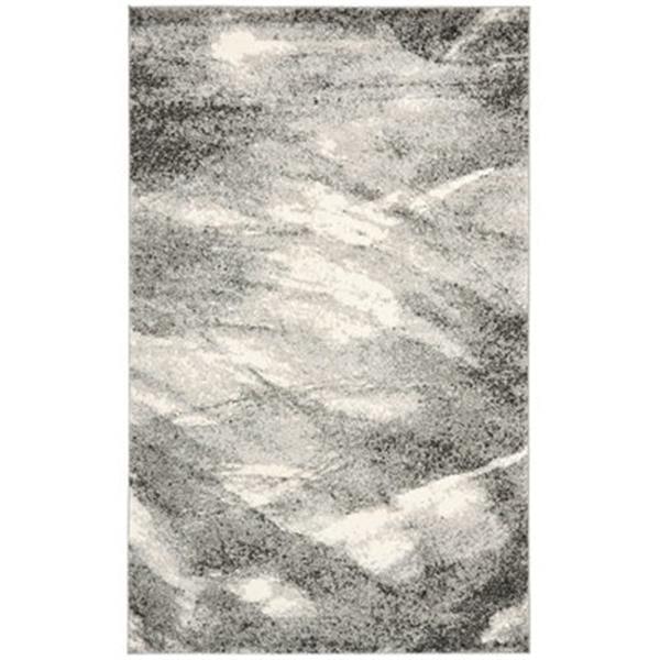 Safavieh RET2891-8012 Retro Area Rug, Grey/Ivory,RET2891-801