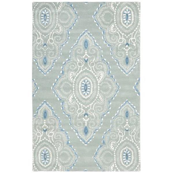 Safavieh WYD372A Wyndham Area Rug, Blue/Ivory,WYD372A-4
