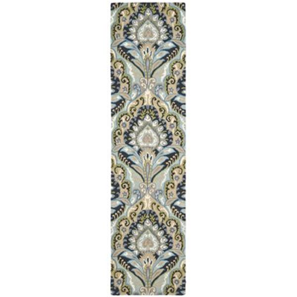 Safavieh Wyndham Blue and Multi-Colored Area Rug,WYD374A-211