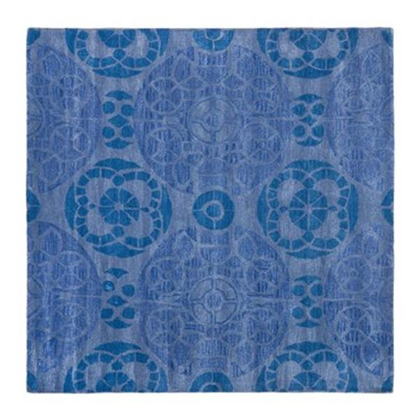 Safavieh WYD376E Wyndham Area Rug, Blue,WYD376E-5SQ