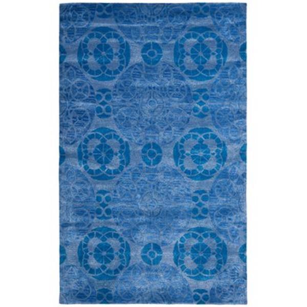 Safavieh WYD376E Wyndham Area Rug, Blue,WYD376E-4