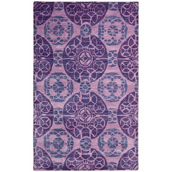 Safavieh WYD376J Wyndham Area Rug, Purple,WYD376J-4
