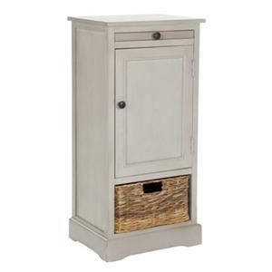Safavieh Raven 34.3-in Distressed Cream Tall Storage Table