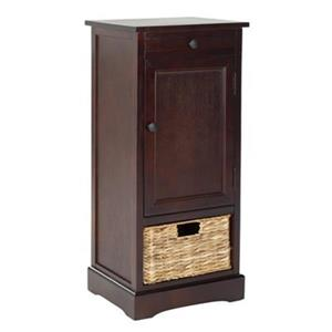 Safavieh Raven 34.3-in Dark Cherry Tall Storage Table