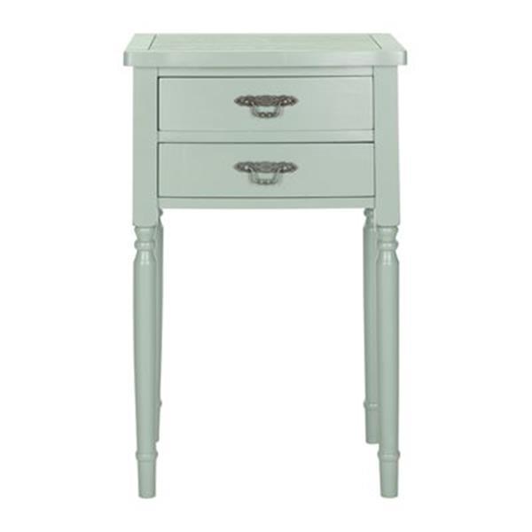 Safavieh Marilyn 30.1-in Medium Grey End Table