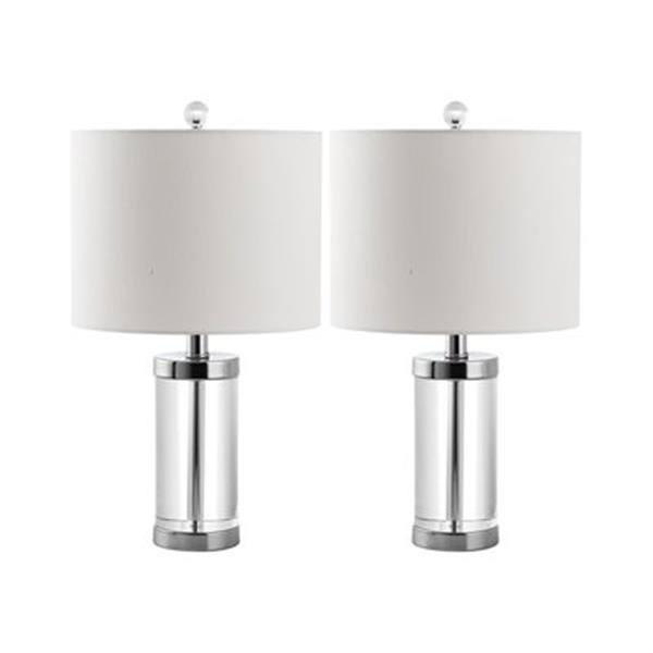 Safavieh 20-in Clear Laurie Table Lamps (Set of 2)