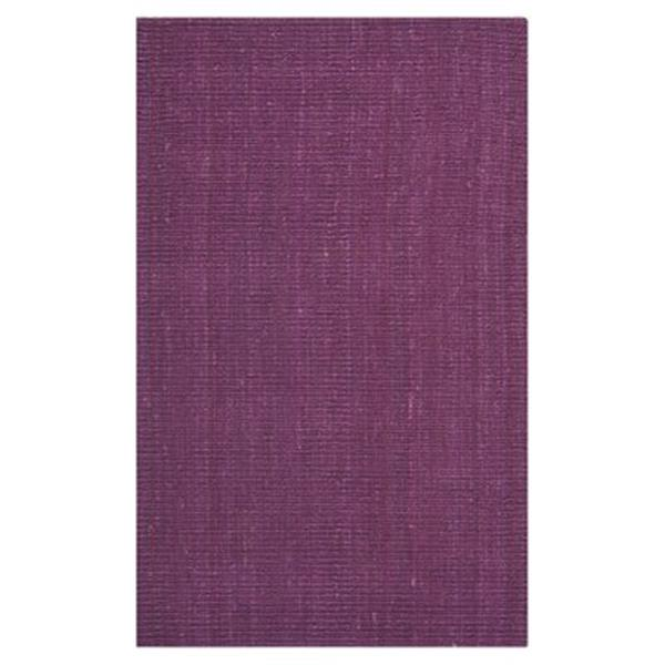 Safavieh Natural Fiber Purple Area Rug,NF447B-5