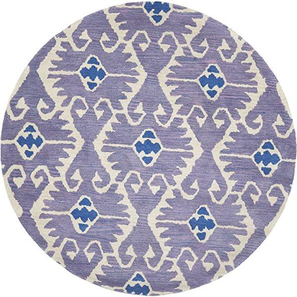 Safavieh Wyndham Lavender and Ivory Area Rug,WYD323A-5R