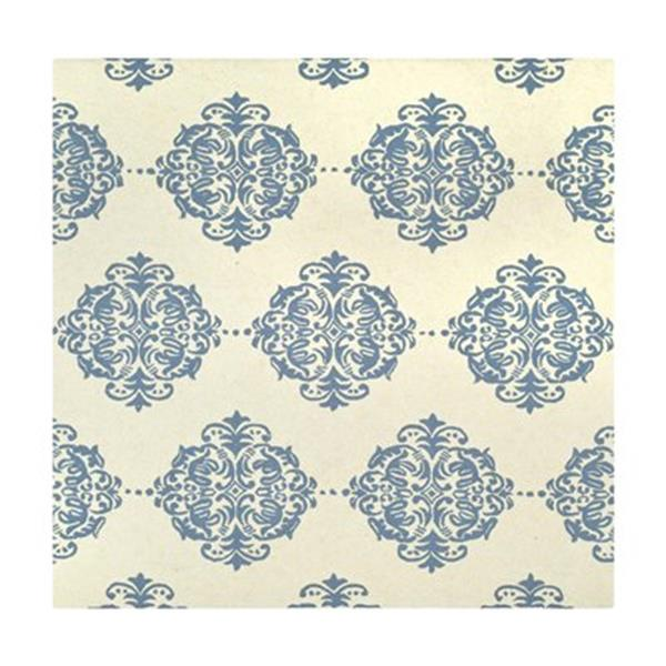 Safavieh Chelsea Ivory and Blue Area Rug,HK145A-6SQ