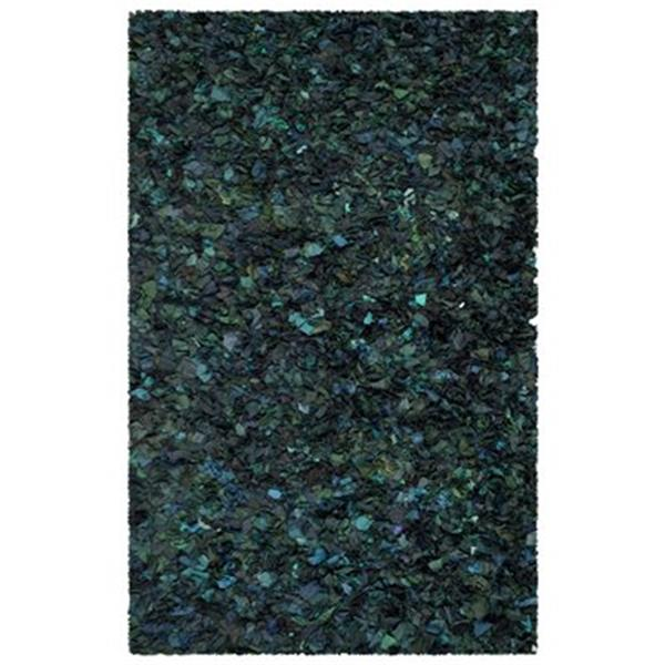 Safavieh Shag Green and Multi-Colored Area Rug,SG951A-5