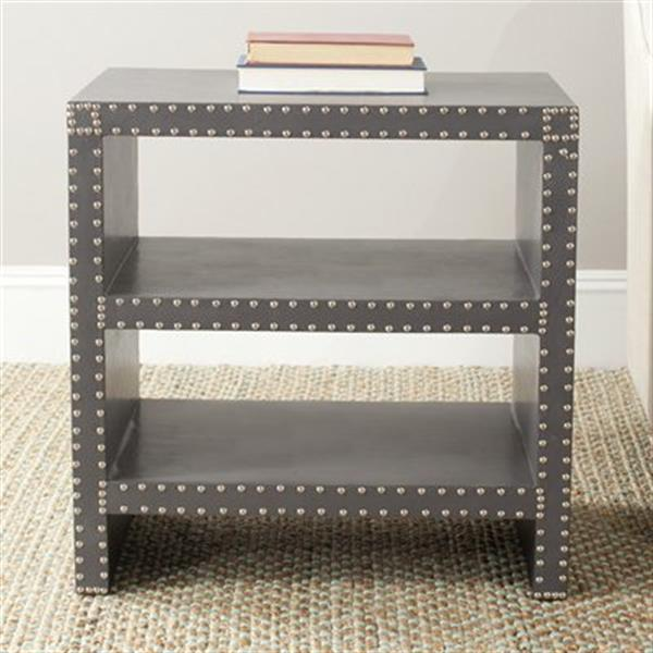 Safavieh Lacey 23.6-in Grey Side Table