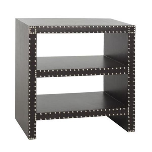 Safavieh Lacey 23.6-in Dark Grey Side Table