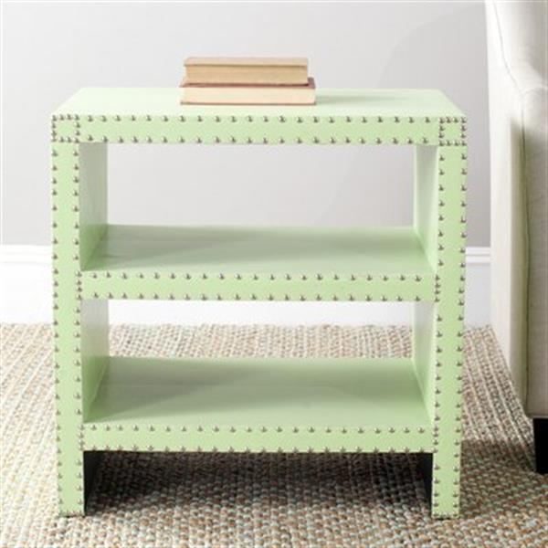 Safavieh Lacey 23.6-in Green Side Table