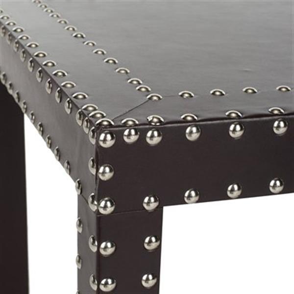 Safavieh Lena 23.6-in Dark Grey End Table