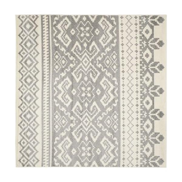 Safavieh Adirondack Ivory and Silver Area Rug,ADR107B-8SQ