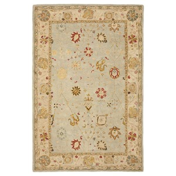 Safavieh Anatolia Grey Blue and Ivory Area Rug,AN559B-4