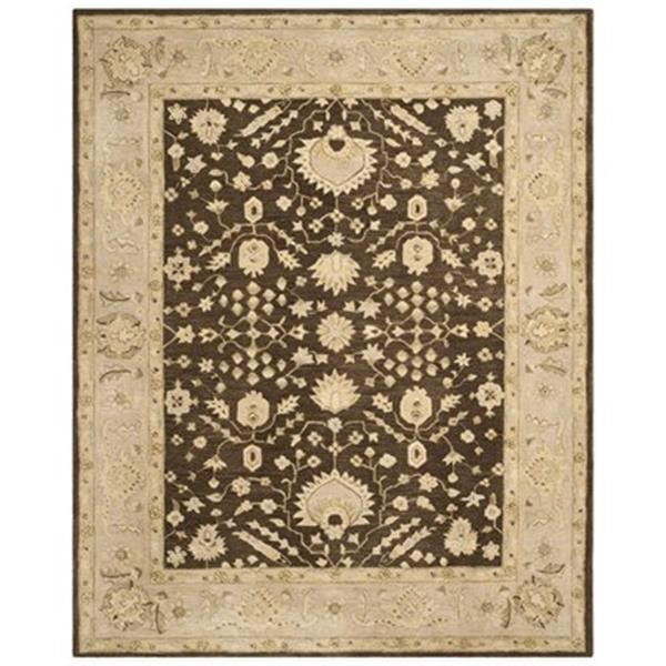 Safavieh AN564A Anatolia Area Rug, Chocolate / Ivory,AN564A-