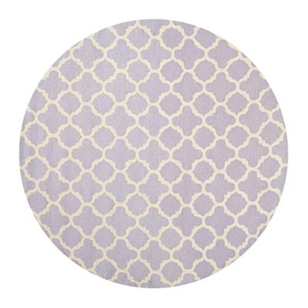 Safavieh Cambridge Lavender and Ivory Area Rug,CAM130C-212