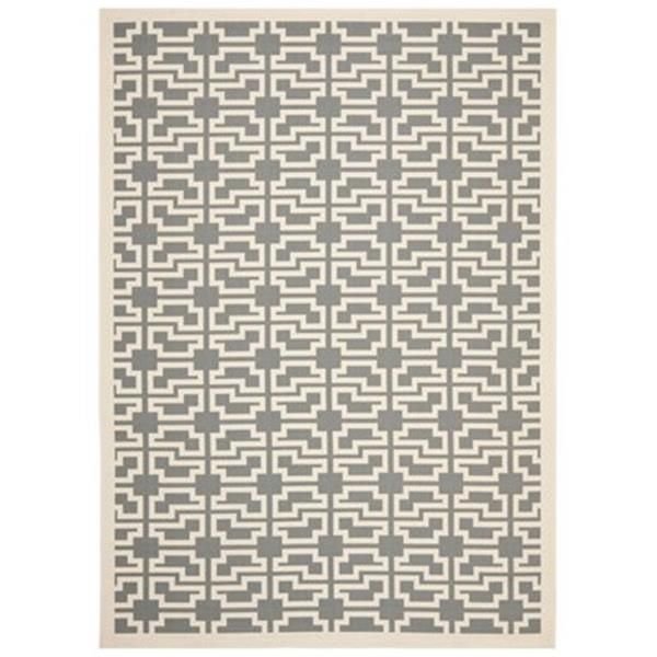Safavieh Courtyard Grey and Beige Area Rug,CY6015-246-6