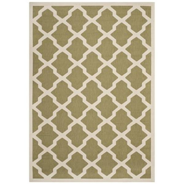 Safavieh Courtyard Green and Beige Area Rug,CY6903-244-6