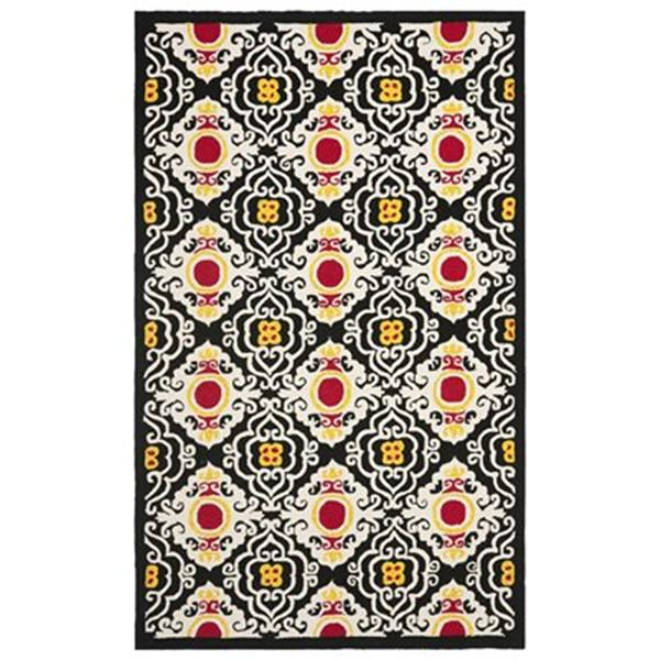 Safavieh Four Seasons Cream/Multi 96-in x 60-in Indoor/Outdoor Area Rug