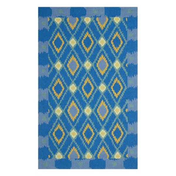 Safavieh Four Seasons 5 ft x 8 ft Indigo and Yellow Area Rug