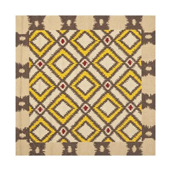 Safavieh Four Seasons 6 ft x 6 ft Cream Area Rug