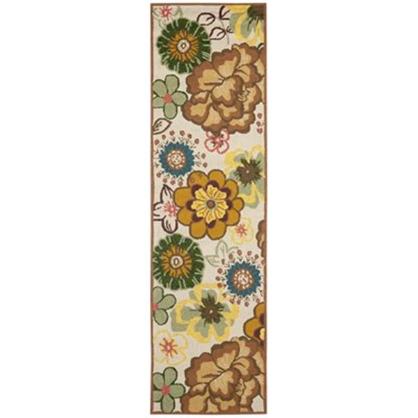 Safavieh Four Seasons 5 ft x 8 ft Ivory and Brown Area Rug