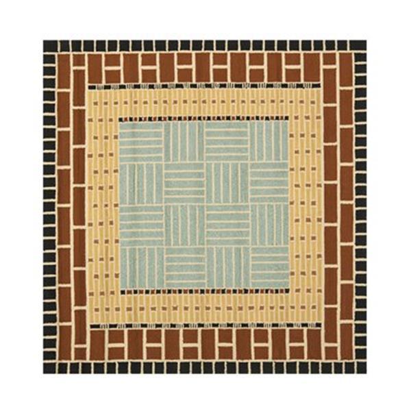 Safavieh Four Seasons 6-ft x 6-ft Brown Area Rug