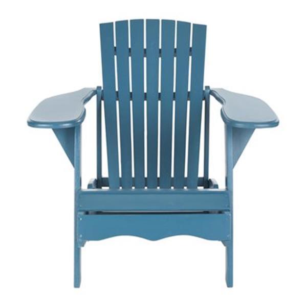 Safavieh 32.7-in x 37.4-in Teal Mopani Chair
