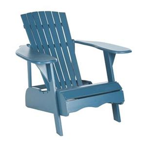 Safavieh 32.7-in x 37.4-in Teal Mopani Chair