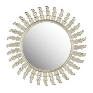 Safavieh Inca Sun 32-in x 32-in Pewter Mirror