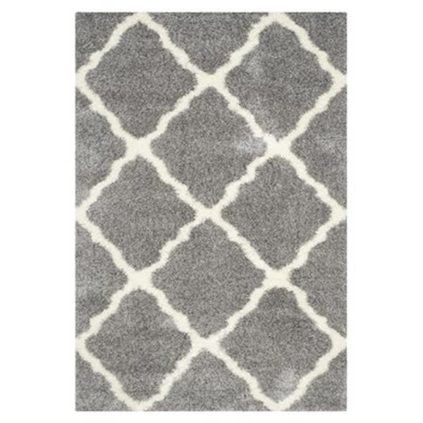 Safavieh Montreal Shag Grey and Ivory Area Rug,SGM866D-5