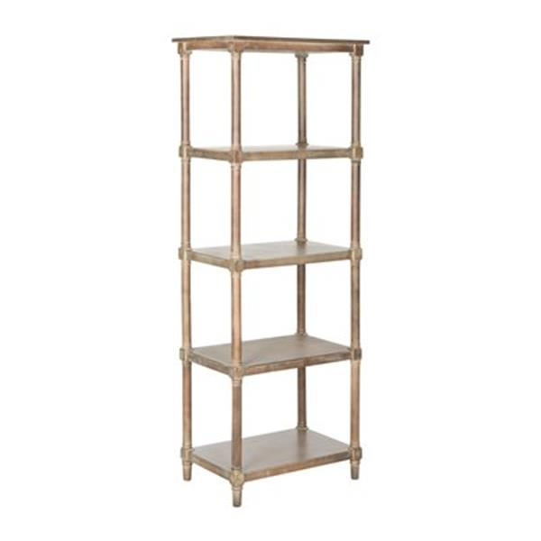 Safavieh Odessa American Home Washed Natural Open Back Bookcase