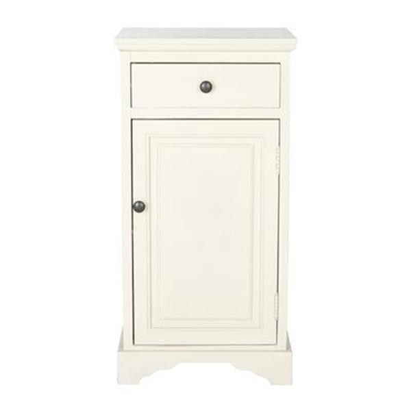 Safavieh American Home White Jett Cabinet