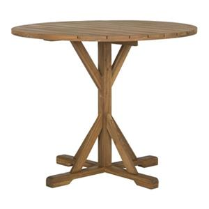 Safavieh 29.10-in Teak Arcata Round Table