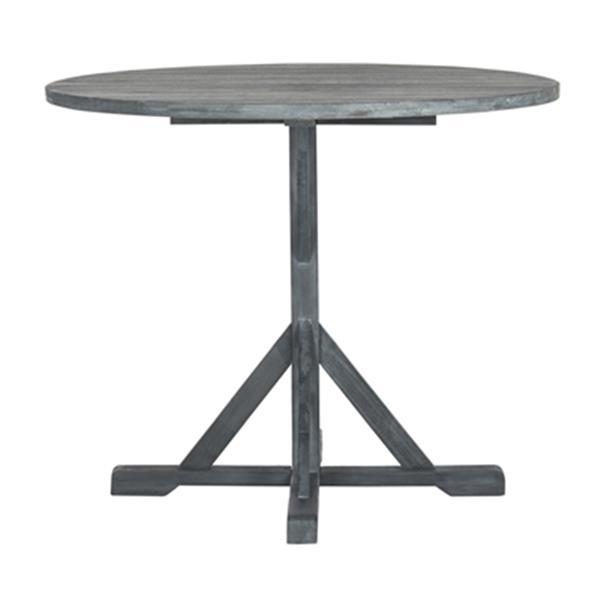 Safavieh 29.10-in Warm Grey Arcata Round Table